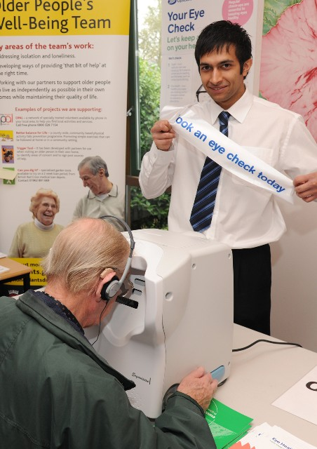 Older Drivers Forum and eyesight test with Boots | Older