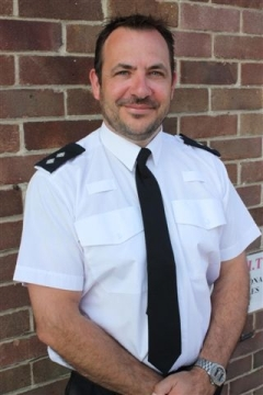 Richard Parsons, Hampshire Constabulary