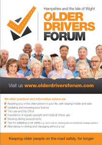 Older Drivers Forum Poster 2014