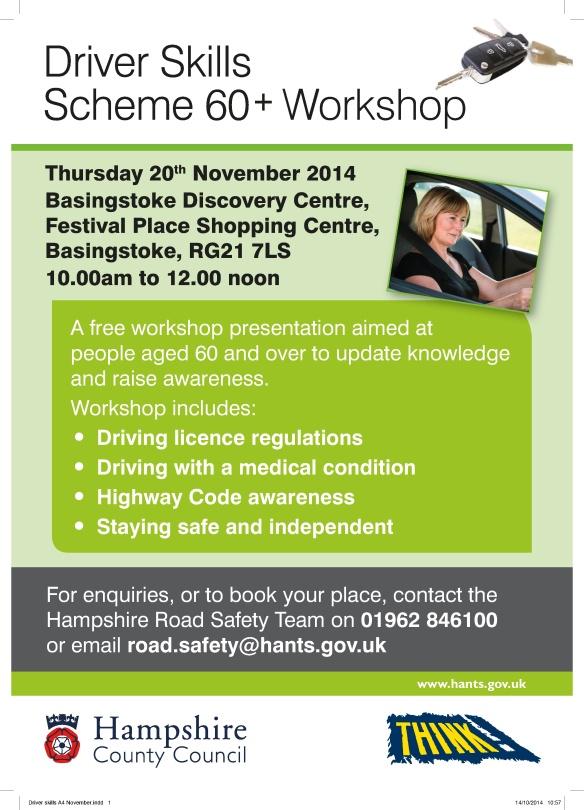 Drivers Skills Scheme 60+ event