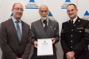 Receiving Commendation