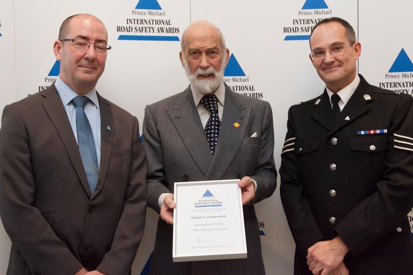 Receiving Commendation